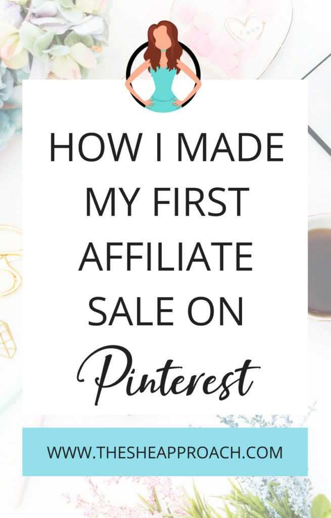 Make money online and work from home by starting a blog and earning through affiliate marketing. Find out how I made my first affiliate sale with a small blog today! #affiliatemarketingguide #affiliatemarketingtips #pinteresttips