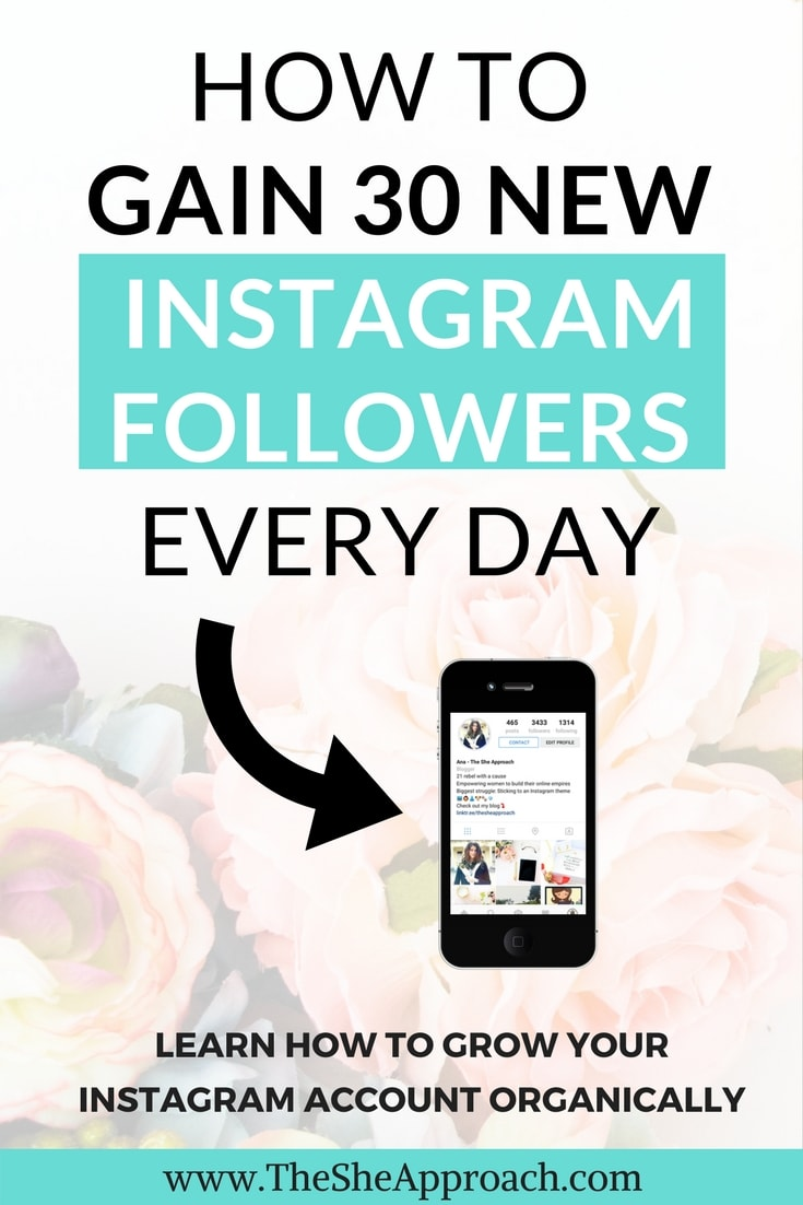 How to get 30 real Instagram followers daily