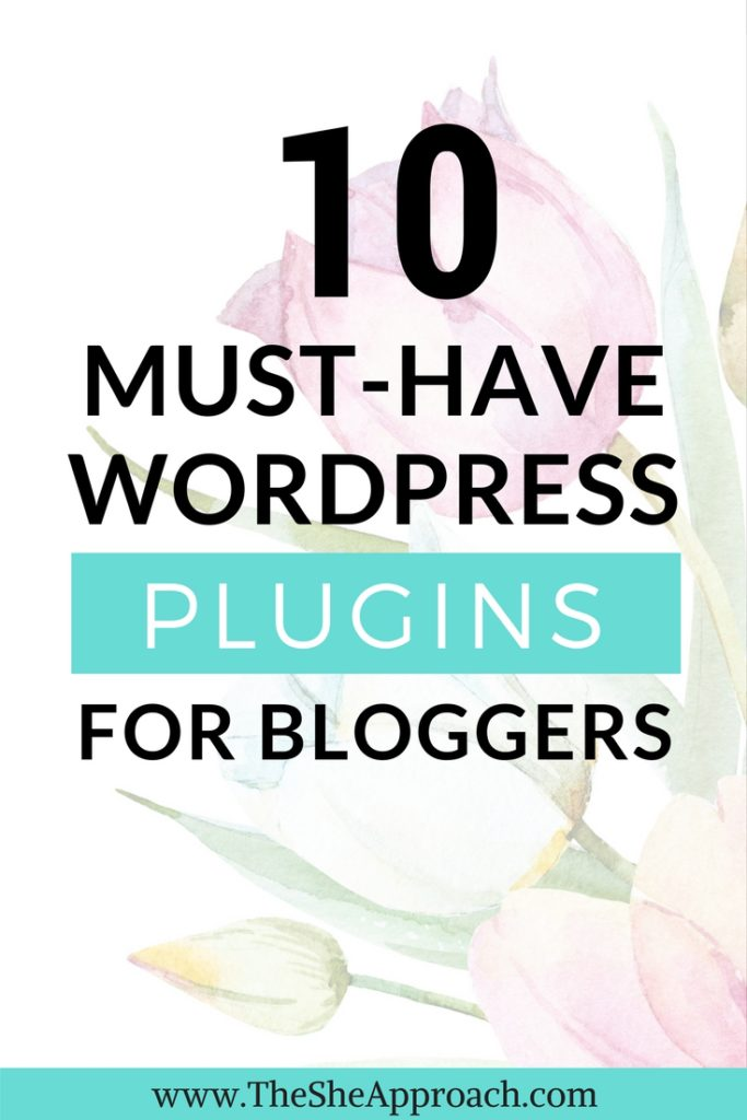 Here are 10 WordPress Plugins For Bloggers that cannot miss from any self-hosted website! Blogging tips for female entrepreneurs. Self-hosted wordpress blog tutorial.