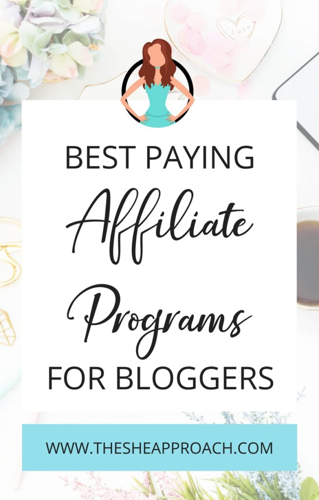 Want to make money blogging, earn passive income and start a profitable online business? Here are a few of my absolute favorite high-paying affiliate networks for bloggers! #bloggingtips #affiliatemarketing