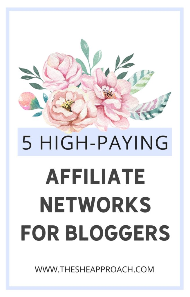 Are you on the lookout for some Well Paying Affiliate Networks so you can get started with affiliate marketing? Click to find out my favoruite 5, monetize your blog with affiliate sales and make money online for real! #affiliatemarketing #makemoneyonline