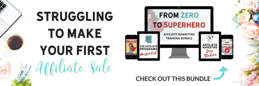 Affiliate Marketing - Make your first sale!
