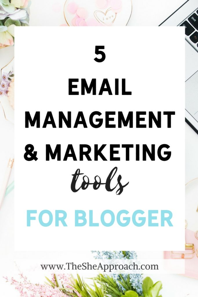Looking for tools and apps to make your inbox more manageable and stay on top of your email marketing? Here are 5 must-have tools for bloggers and business owners. Organize your inbox and grow your email list!