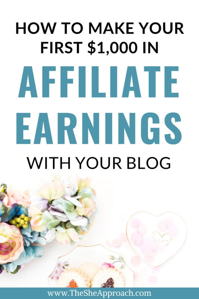 Have you gotten started with affiliate marketing yet? How close are you to making your first $1000 in affiliate sales? Find out how to get there quicker and make more money online with this free affiliate marketing guide for bloggers. #bloggingtips #incomereport #affiliatesales
