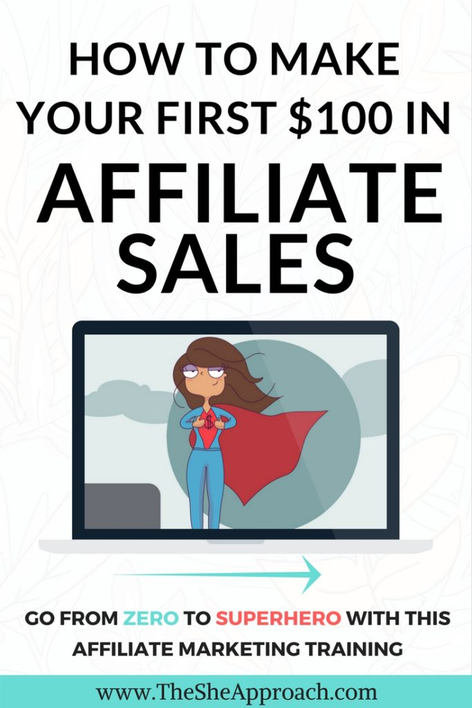 How to make your first $100 in affiliate sales, make money blogging and become an affiliate marketing expert.