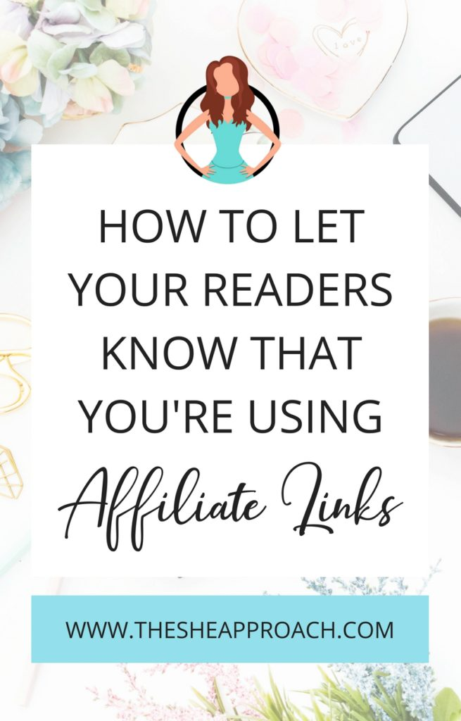 How to blog legally and disclose your affiliate link (with examples!). Affiliate marketing tips for bloggers and business owners. #affiliatemarketing #affiliatedisclosure