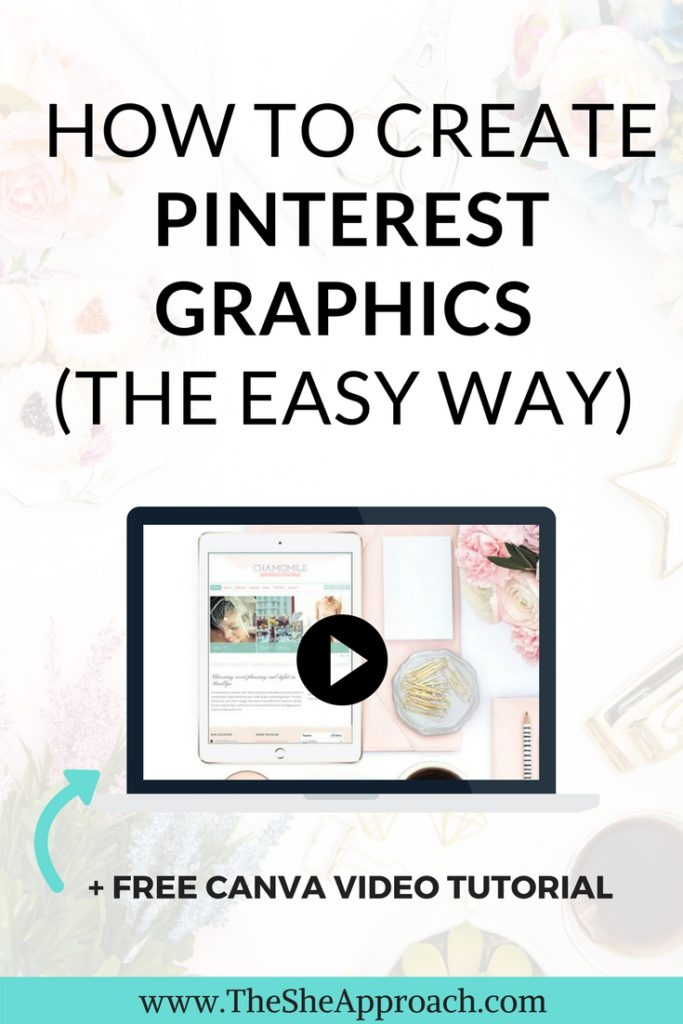 How to easily create stunning pinterest graphics for your blog posts and get more blog traffic from Pinterest. Grow your blog and create social media graphics and Pinterest templates. #pinteresttips #pinteresttemplates #bloggingtips #blogtraffic #growyourblog