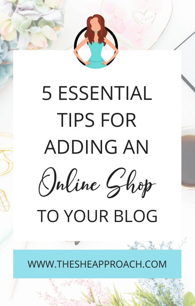 Ecommerce tips for bloggers who want to earn more money blogging. Start an online store on your blog and get sales in! #onlinebusiness #startablog #bloggingtips