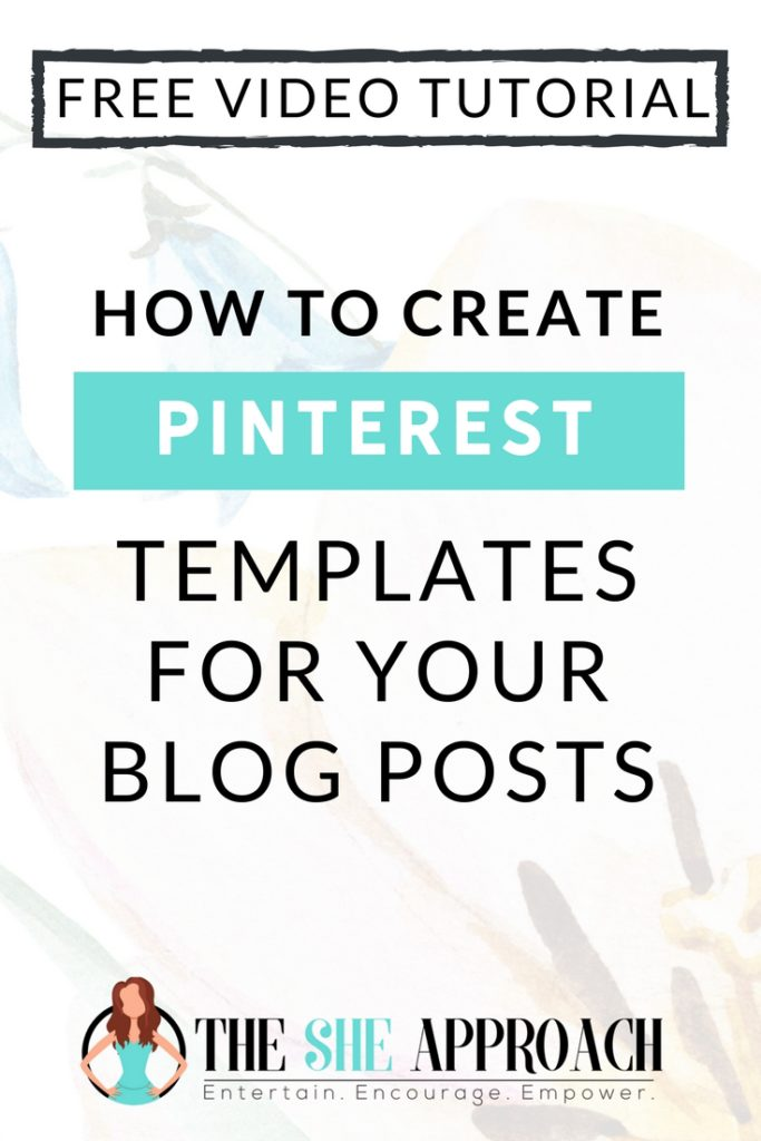 Wondering how to create stunning pin graphics for your blog posts to promote your articles on Pinterest and get more blog traffic from social media? Click over to read my full tutorial, along with a free video lesson on how to create Pinterest designs and graphics and more Pinterest tips for bloggers! #pinteresttipsforbloggers #socialmediamarketing #socialmediatips #pinteresttutorial