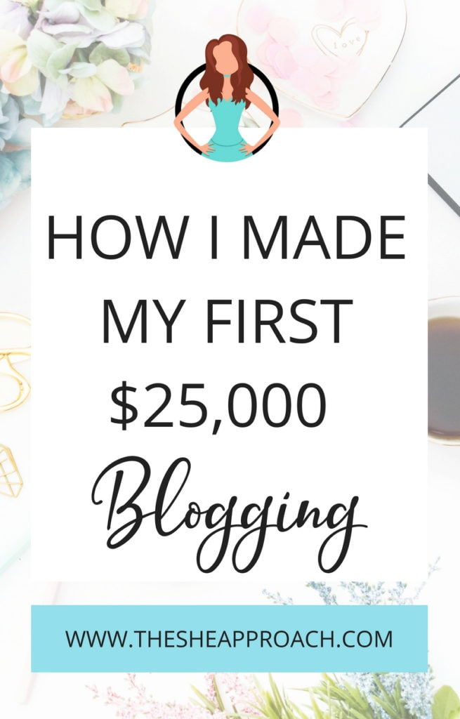 Monetize your blog and start making cash online. Find out how to get paid as a blogger and earn money online so you can become a full-time blogger. If you ever wondered how bloggers make money, this is the post for you! #incomereport #bloggingtips #makemoneyonline