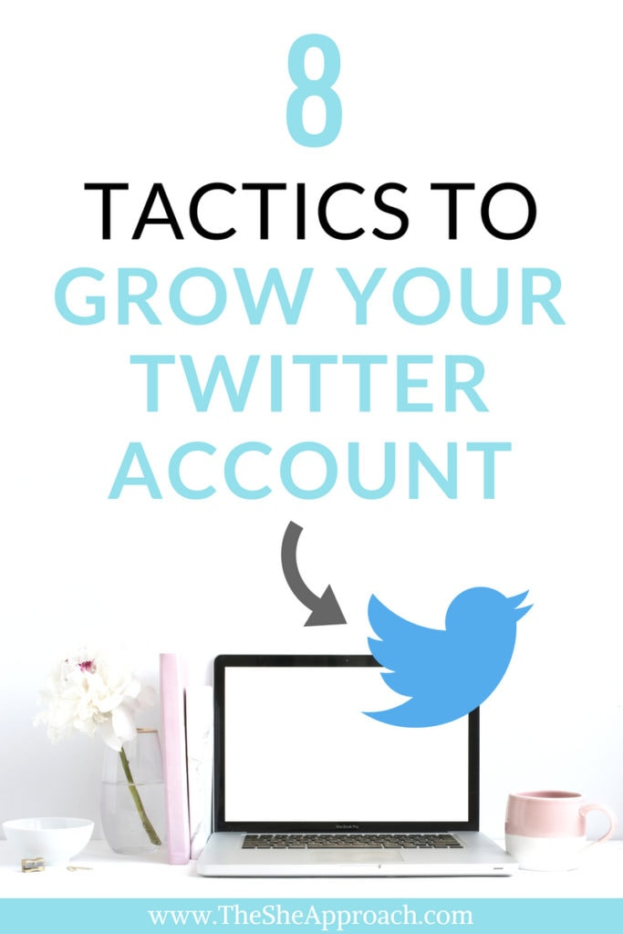 Grow your blog with Twitter account. Twitter marketing for bloggers and social media tips to help you increase your pageviews. #twittertip #twitterforbloggers