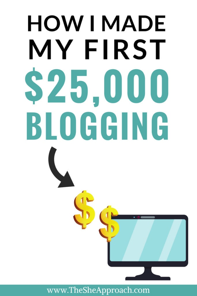 Make money with your brand new blog today. Find out how I #makemoneyblogging without paying for ads. A blogging income report where I share everything you need to know about what it takes to run a profitable blog. #bloggingtips #affiliatemarketing #bloggingincomereport