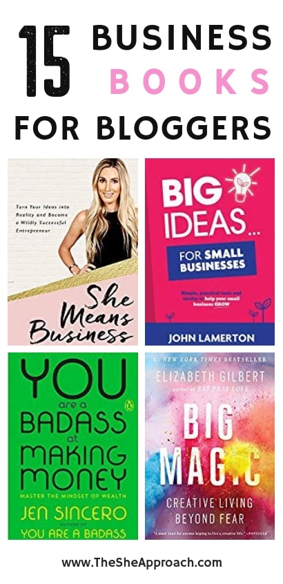 Best business books for bloggers. Top 15 amazon books for self improvement, blogging and for entrepreneurs. Gift ideas for bloggers & gift ideas for entrepreneurs.