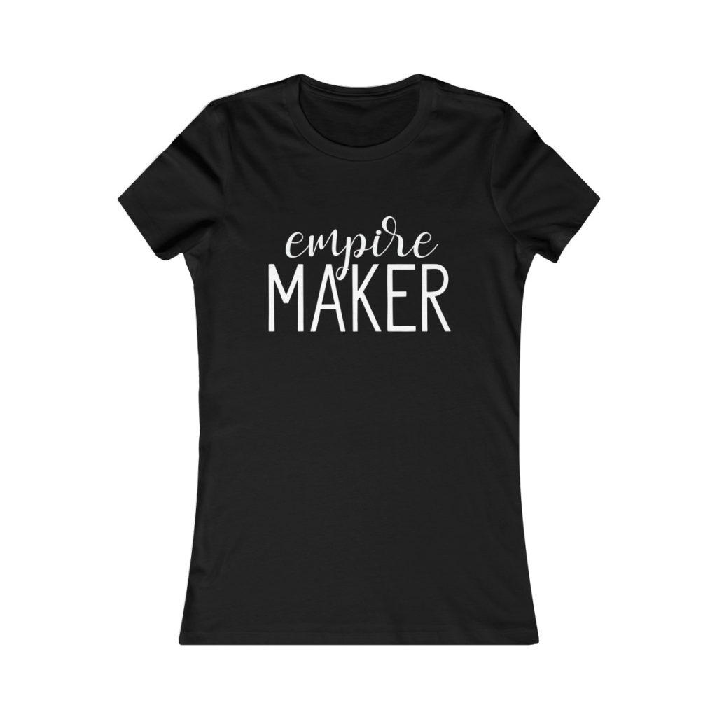 T-shirt for female entrepreneurs