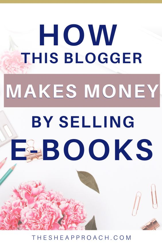 Make Passive Income Selling Ebooks