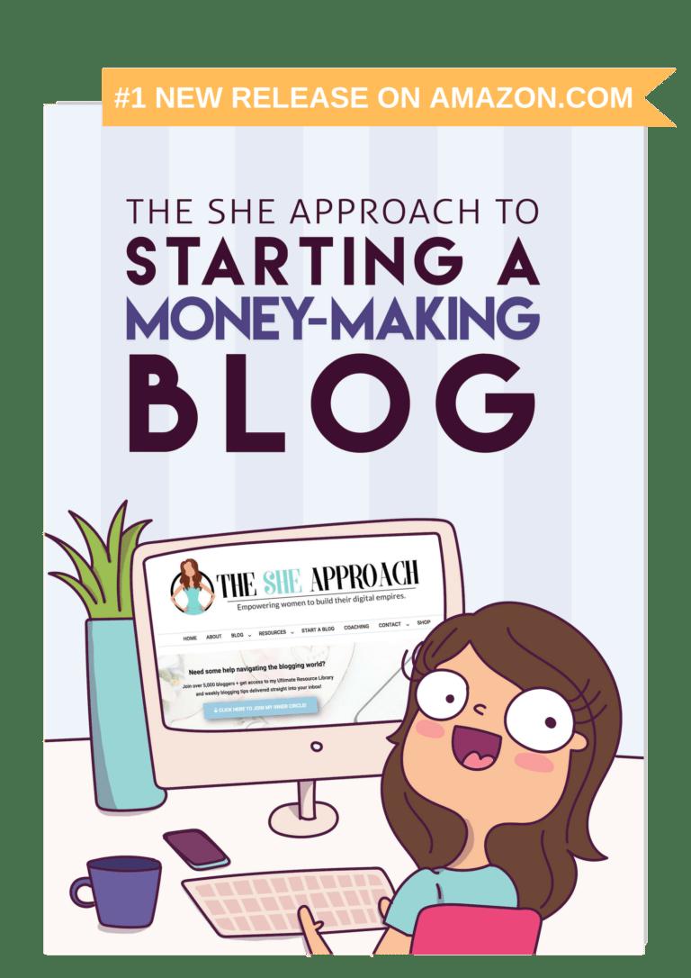 Start A Money Making Blog Amazon Ebook - Blogging Tips For Beginners