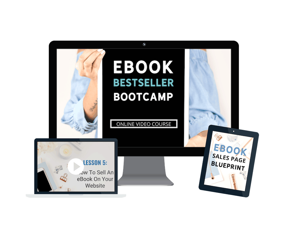 Online course for bloggers. Self-publish your first eBoo today!