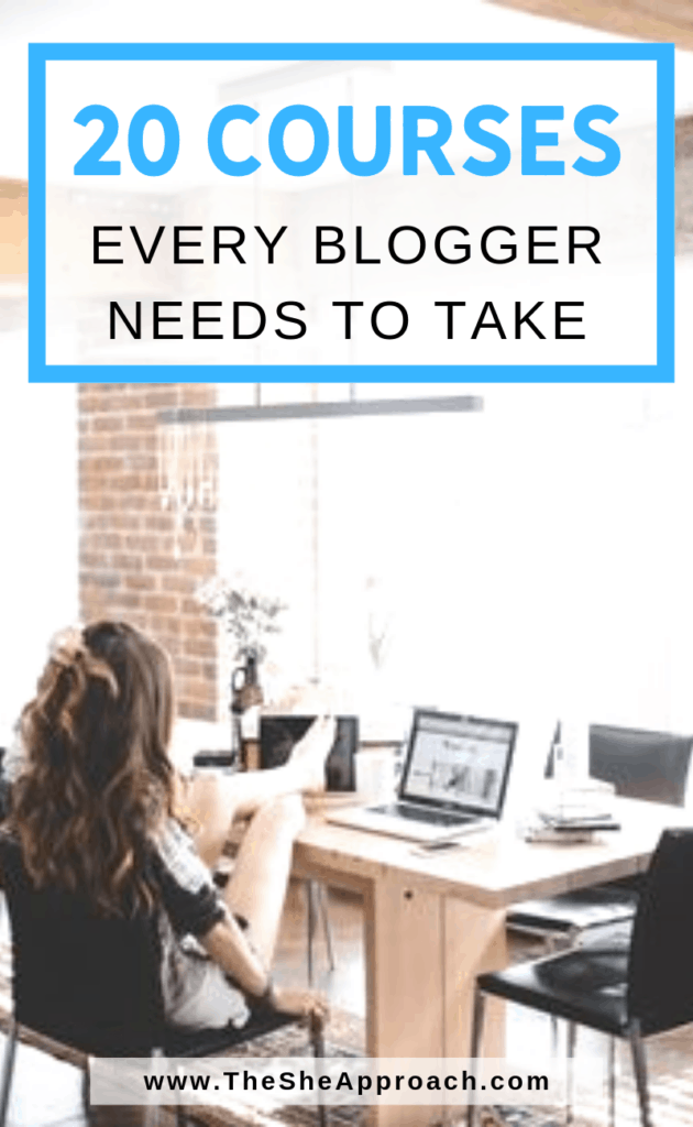 The Best 20 Courses For Bloggers At Any Stage. Click over and find out what are the 20 best online courses for bloggers and entrepreneurs. Become a self-thought blogger or start your business with these tips. Included: 7 free online courses for bloggers that you can enroll in today! One of the biggest mistakes I see bloggers make when things start going well for them is that they stop learning! Don't be that blogger.