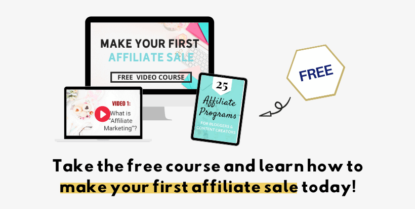 How bloggers make money - affiliate marketing free course