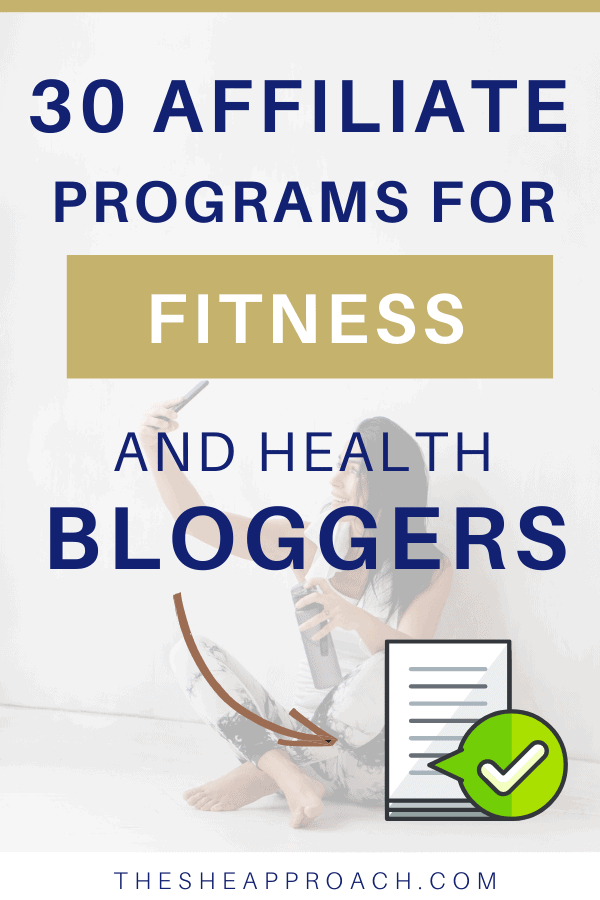 Best Fitness Affiliate Programs for Bloggers