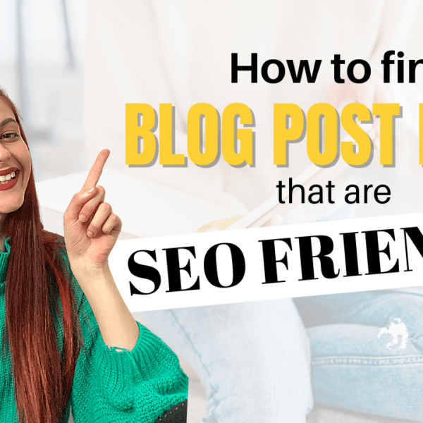 How to do keyword research to find blog posts ideas